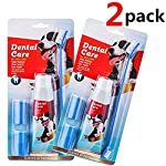 CooZero Dog Dental Care Kit, 2 Pack Dog Toothpaste and Dog Toothbrush Set Pet Soft Toothbrush Dog Finger Toothbrushes Pet Toothbrush for Cats and Dogs - Small to Large Dogs 9