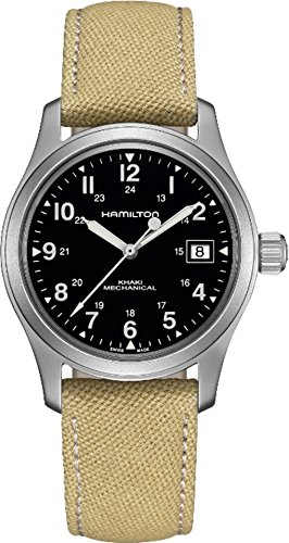 Hamilton Mechanical Watches - Hamilton Unisex Khaki Field - H69419933 Black One Size