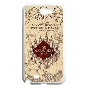 New Fashion Hard Back Cover Case for Samsung Galaxy Note 2 N7100 with New Printed Harry Potter Quote