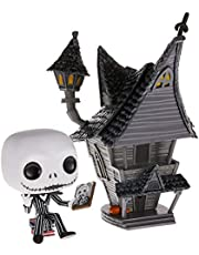 Boneco Disney O Estranho Mundo de Jack Jack Skellington e Jack's House Pop Funko 07 *-*-*-*-*SUIKA*-*-*-*-*