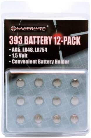 Laserlyte 393 Batteries 12 pack BAT-12PK-393