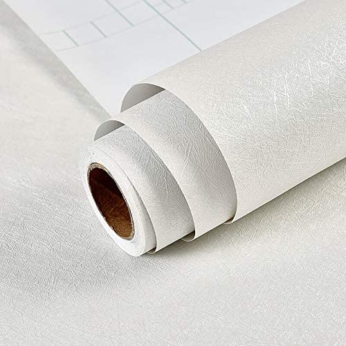 Hode Carta Adesiva per Mobili in Legno 40cm X 3m Pellicola Autoadesiva in Vinile PVC Carta da Parati in Grigio Adesivi da Cucina Durevoli Bagno Scaffale Mobili Impermeabile
