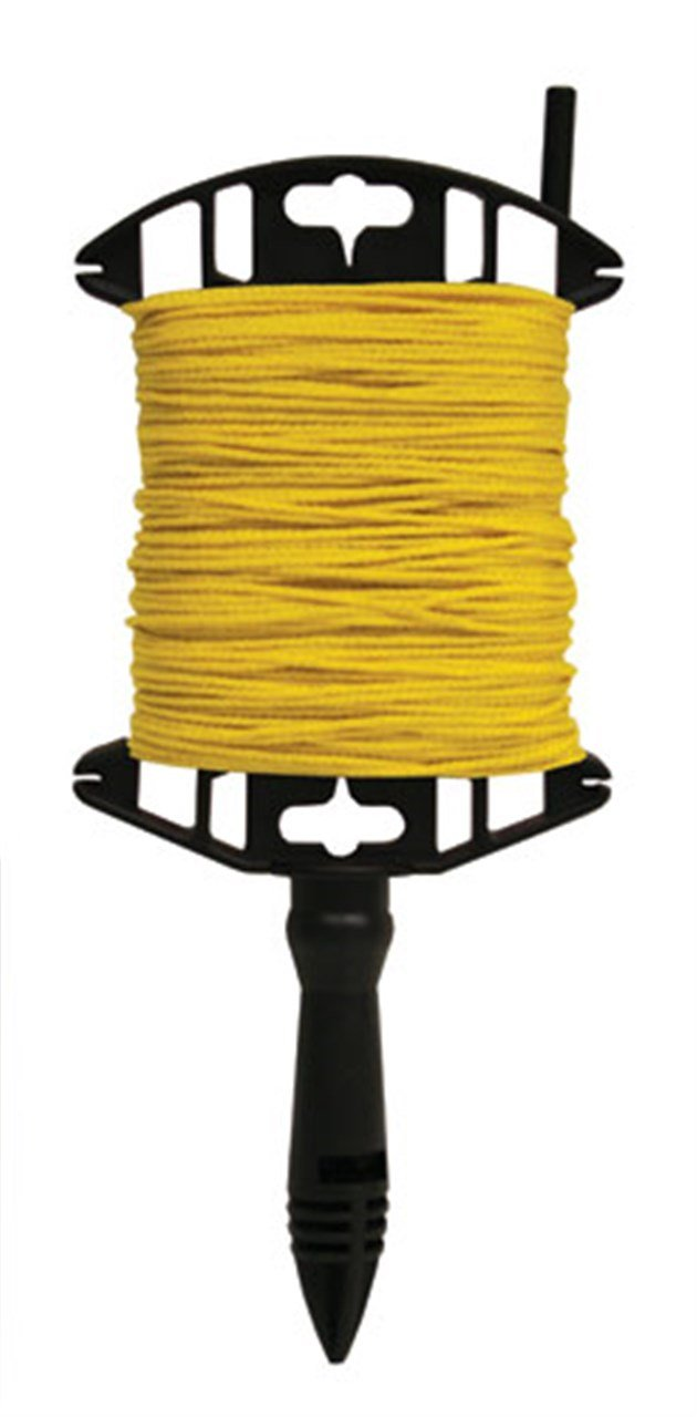 Kraft Tool BC332W Yellow Utility Masons Line 250-Feet Winder by Kraft Tool