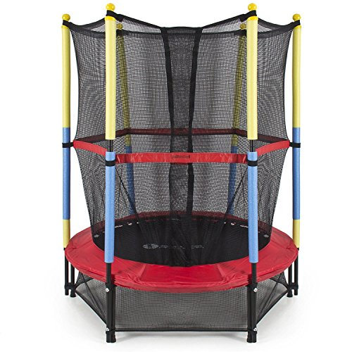 SkyJumper 54 Inch Trampoline for Kids with Enclosure Price & Reviews