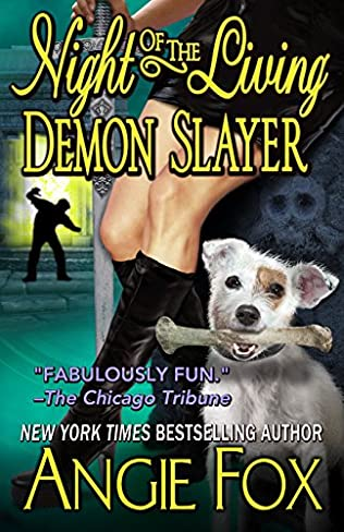 book cover of Night of the Living Demon Slayer