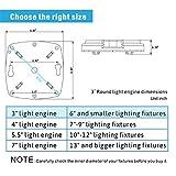 "Silverlite 3"" LED Retrofit Kit Light Engine for"