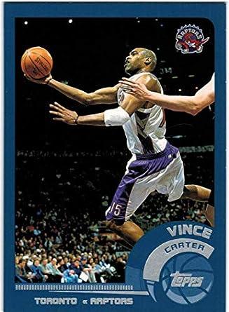new product 61b8a d6a72 Amazon.com: 2002-03 Topps Toronto Raptors Team Set with ...
