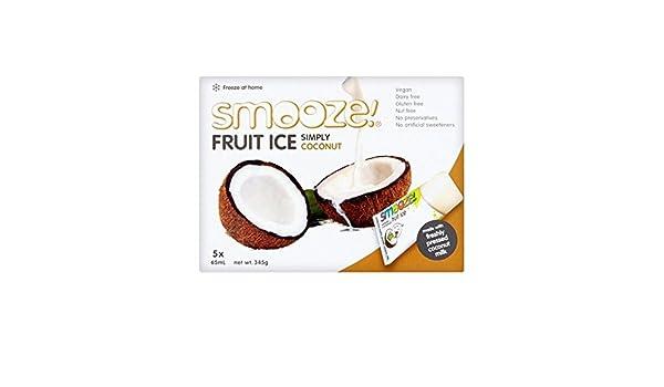Smooze Simplemente Polos De Hielo De La Fruta De Coco 5 X 65Ml - Paquete de 6: Amazon.es: Alimentación y bebidas