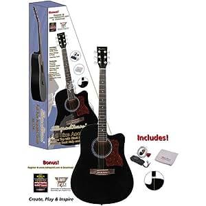"Amazon.com: Spectrum 41"" ail-128 Negro Cutaway Acoustic ..."