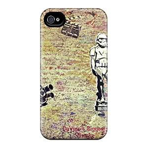 New BbE3467GGON Star Wars Abstract Skin Case Cover Shatterproof Case For Iphone 4/4s