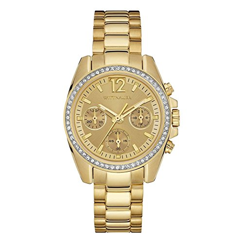 Wittnauer WN4074 Ladies Lucy Gold Plated Chronograph, used for sale  Delivered anywhere in USA