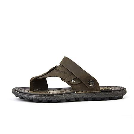 5fb69d9654609 Men s Sandal Men s Waterproof And Anti-skid Wet Flip-flops (24-27cm) Summer  Beach Shoes.  Amazon.co.uk  Kitchen   Home