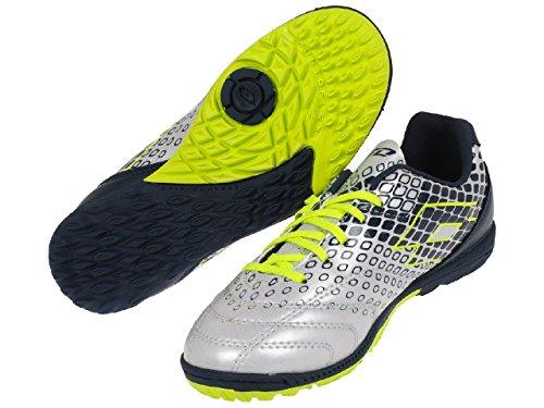 Lotto Sport–Spider 700Jr Turf–Schuhe Fußball stabilisierten Hellgrau