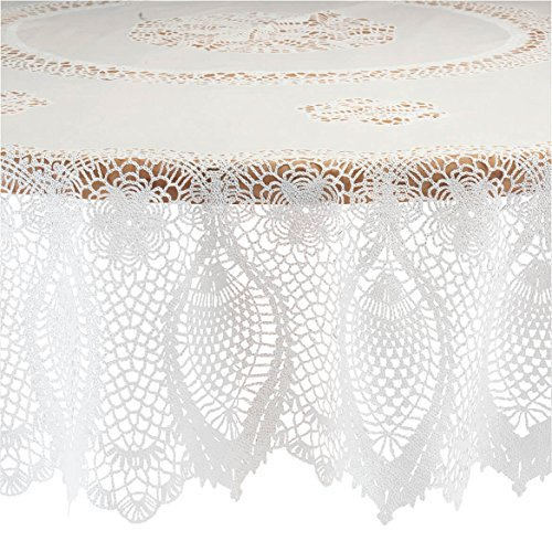 Miles Kimball Vinyl Lace Tablecloth