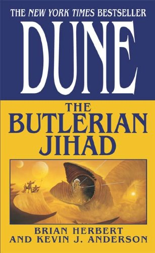 book cover of The Butlerian Jihad