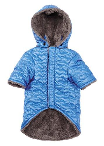 Zack & Zoey Elements Hearts Jacket, Blue, Large (Hearts Zoey)