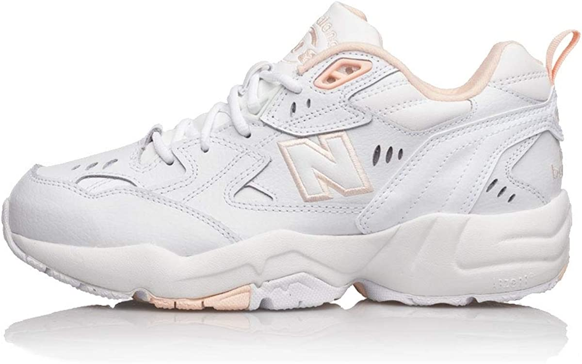 apparato Viaggio Accettato  New Balance Girl's WX608WI1 Trail Running Shoe, White Pink, 1 UK:  Amazon.co.uk: Shoes & Bags