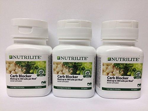 3 Pack Nutrilite Carb Blocker - 90 Tablets