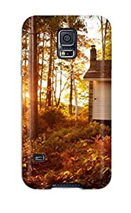 Best Case Cover, Fashionable Galaxy note4 Case - Autumn At The Lake