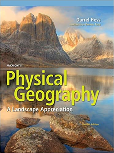 Physical Geography Map Of Usa, Mcknights Physical Geography A Landscape Appreciation 12th Edition Kindle Edition, Physical Geography Map Of Usa