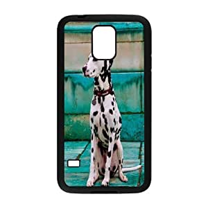 {Dalmatian Series} Samsung Galaxy S5 Case Dalmatians as a Child, Case Bloomingbluerose - Black