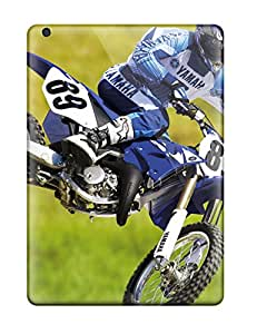 Top Quality Case Cover For Ipad Air Case With Nice Yamaha Motocross Bike Appearance