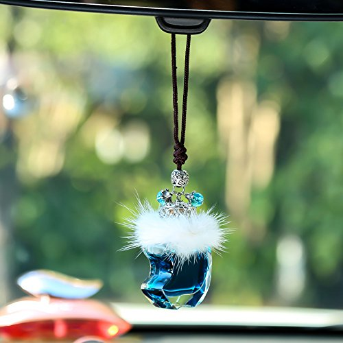 4ml Pure Perfume - Blue 4ml Car Perfume Long Lasting Car & Home Hanging Air Freshener, Cologne Scent (BLUE)