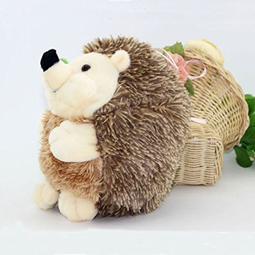 NEW Lovely Soft 7in Hedgehog Animal Doll Stuffed Plush Toy Children Kids Home