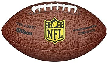 01823a74e Image Unavailable. Image not available for. Colour  Wilson The Duke Replica  Nfl Professional Club Level Composite American Football