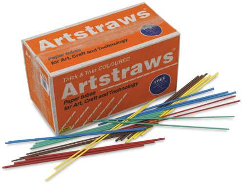 Colored Artstraws Assortment (CKC9232) Category: School Supplies