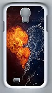 Samsung Galaxy I9500/S4 Cases & Covers -artistic love PC case Cover for Samsung Galaxy S4 and Samsung Galaxy I9500/S4 White