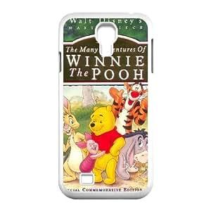Samsung Galaxy S4 9500 White phone case Disney Cartoon Comic Series The Many Adventures of Winnie the Pooh OYF3134273