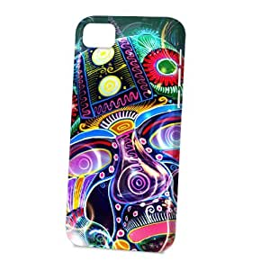 Case Fun Apple iPhone 5C Case - Vogue Version - 3D Full Wrap - Psychedelic Mask