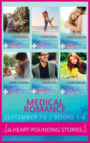 book cover of Medical Romance September 2016 Books 1-6