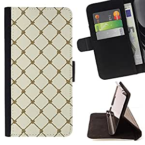 DEVIL CASE - FOR Samsung Galaxy S5 V SM-G900 - Wallpaper Sea Sailing Rope Knot String - Style PU Leather Case Wallet Flip Stand Flap Closure Cover