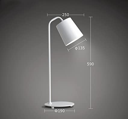 Table Lamps H Desk Lamp Modern Simple Wrought Iron Study Reading LED Lamp  Office Desk Lamp