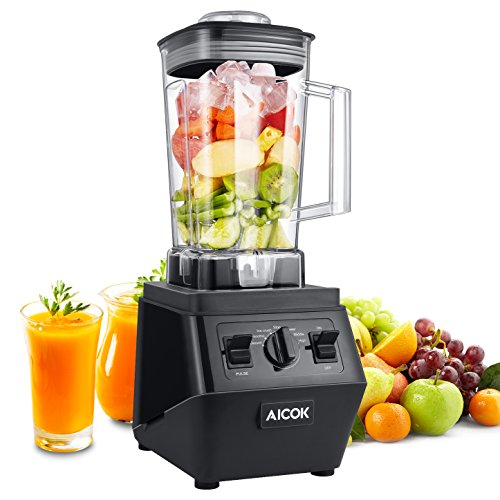 Aicok Blender 1400W Professional High Speed Blender 25,000rpm Commercial