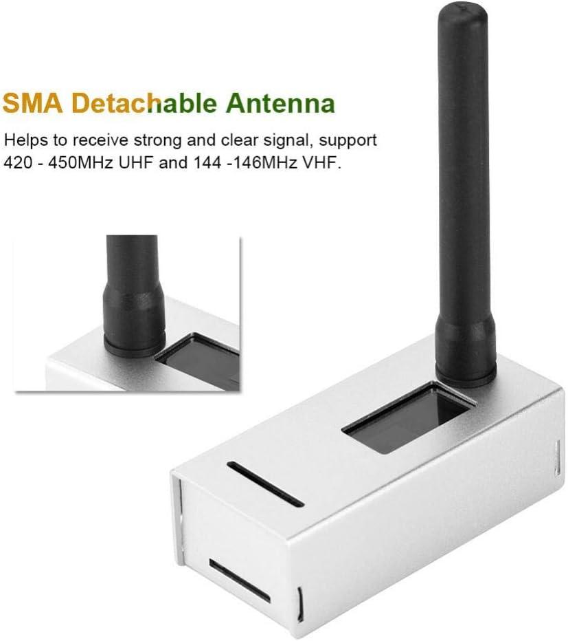 Tarjeta TF de 8G Modo Digital Amateur DMR Estink Hotspot MMDVM Blanco D-Star con Antena P25 e YSF WiFi Incorporado Compatible con PI-Star Adecuado para Raspberry Pi