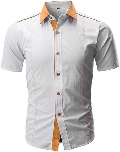 Polo Camisa Hombre Hombre Verano Salir Casual Casual Daily Modernas Polo Camisa Slim Imprimir Solapa Manga Corta Polo Niños: Amazon.es: Ropa y accesorios