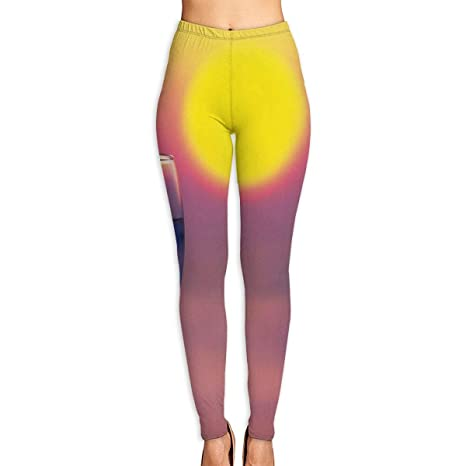 Amazon.com: Cooby Roman Womens Yoga Leggings Pants Two Wine ...