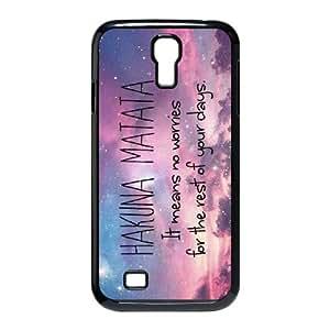 Lycase(TM) Hakuna Matata Custom Cover Case, Hakuna Matata SamSung Galaxy S4 I9500 Case