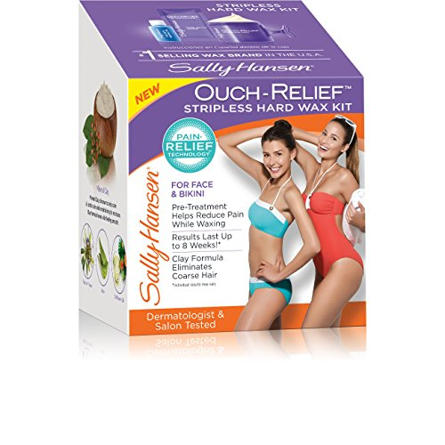 Sally Hansen Ouch-Relief Stripless Body Wax, 4 Ounce
