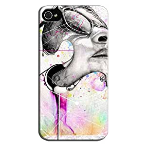 New Style Durable For Iphone 4s Protective Case White SBRmKOPuU