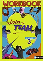 Anglais 3e Join the team : Workbook A2/B1