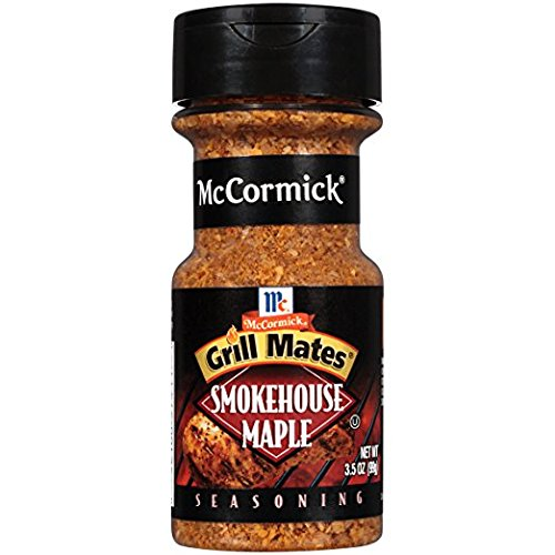 McCormick, Grill Mates Smokehouse Maple - 3.5 oz (Pack of 2) (Maple Smokehouse Seasoning)