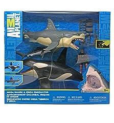 Animal Planet Mega Shark & Orca Encounter Playset