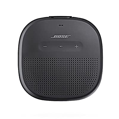 Bose SoundLink Micro Waterproof Bluetooth speaker (Black) with AmazonBasics Case (Black)