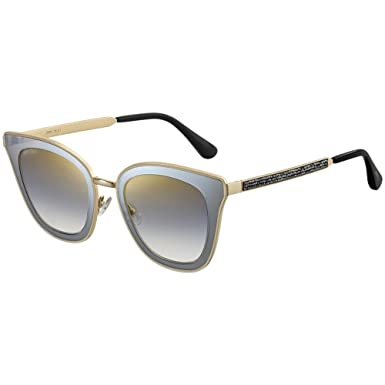 c52e4a8c21c6 Amazon.com  Jimmy Choo Women s Lory S Black Gold One Size  Jimmy ...