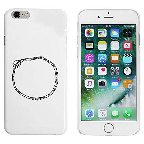 Blanc 'Bracelet' étui / housse pour iPhone 6 & 6s (MC00023434)