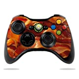 Protective Vinyl Skin Decal Cover for Microsoft Xbox 360 Controller wrap sticker skins Bacon